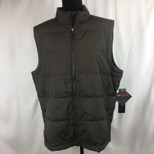 32 Degrees Brown Ultra Light Down Packable Vest L